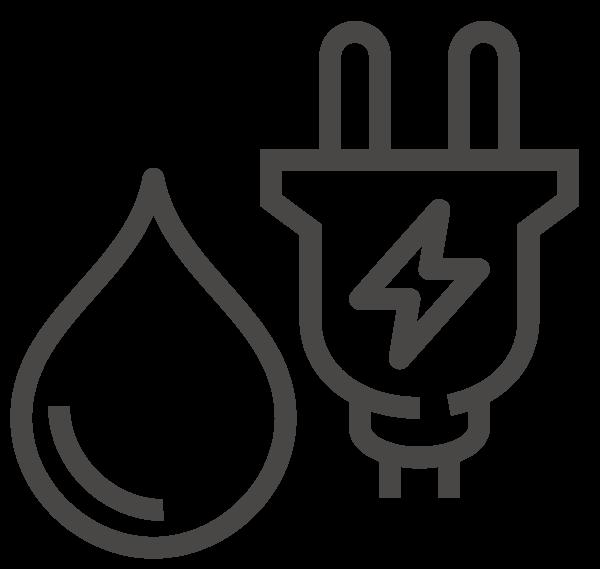 Luftschleier mit Hybridheizung Icon