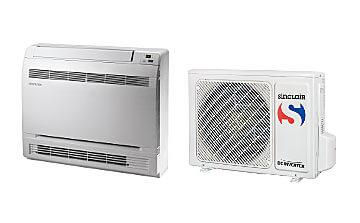 Baureihe CONSOLE – Split Konsolengeräte, Klimaanlage