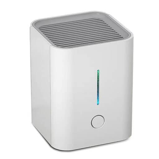 Desktop Luftreiniger mit HEPA, Aktivkohlefilter und UV-LEDs