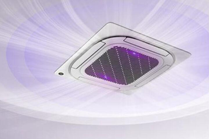 Deckenkassette mit UV-Luftreinigung, Nnachrüstung
