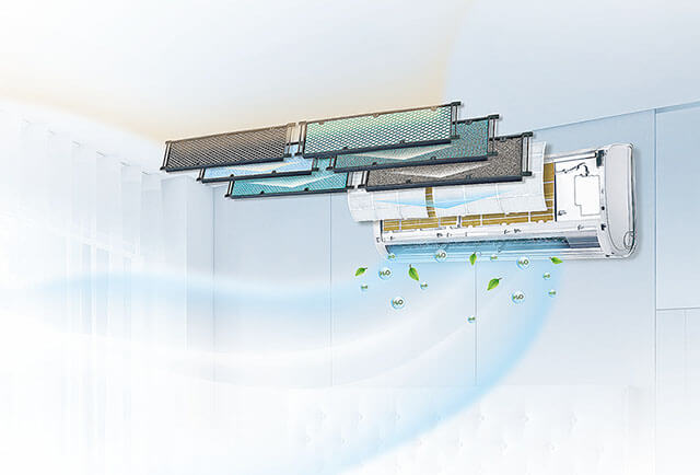 Hygienefilter für Klimaanlagen