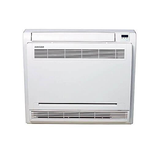 Konsolengerät Inneneinheit Klimaanlage Installation wie Heizkörper