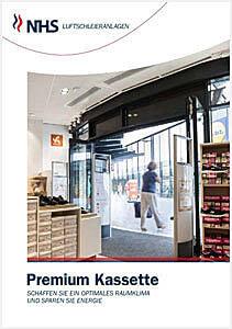 Ballu Luftschleier NHS Premium Kassette (Deckeneinbau)