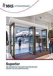 Katalogbild für Luftschleier Baureihe Superior