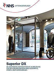 Luftschleier, Ballu Türluftschleier Superior DX