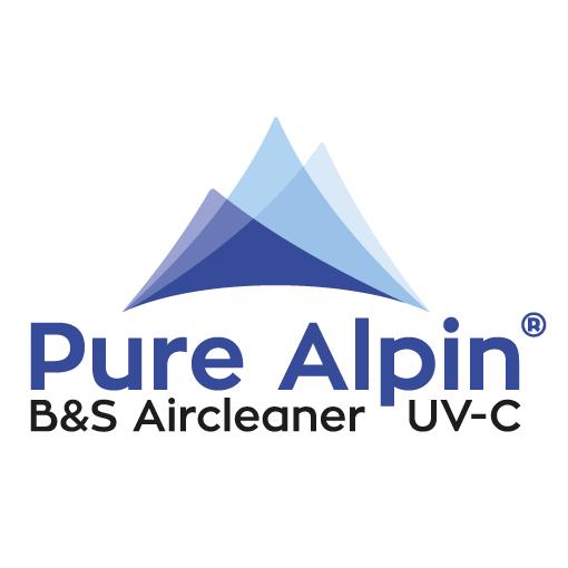 Pure Alpin Luftsterilisation UV-Luftreiniger Wort-Bildmarke