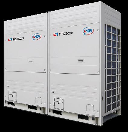 Kommerzielle Klimaanlagen Großsysteme Außeneinheiten modular und individuell