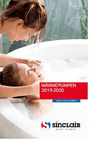 Titelbild Katalog Wärmepumpen - Klimaanlagen