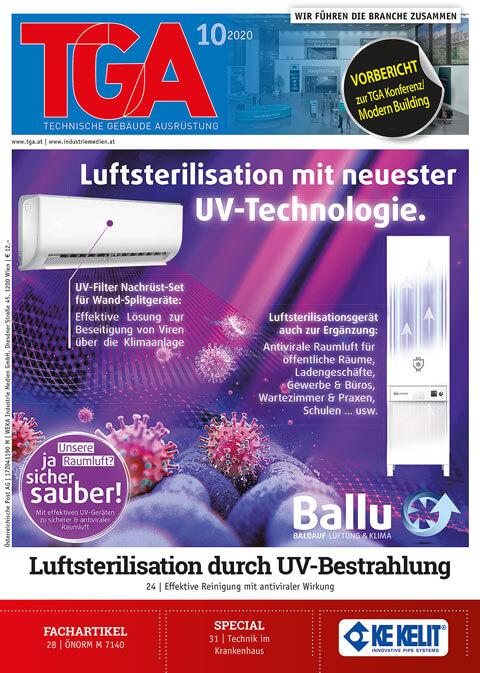Luftsterilisation mit UV-Technologie für Klimaanlagen und als Insellösung