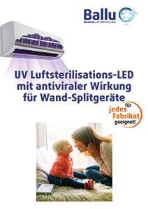 Nachrüstung Set antiviraler Hygienefilter, Luftsterilisation - für Inneneinheiten von Split-Klimaanlagen