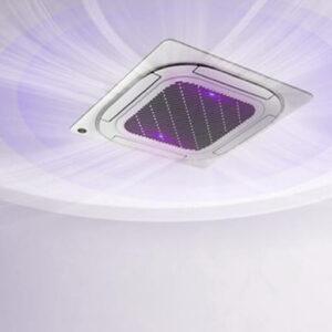 UV-Technologie für antivirale Raumluft über Deckenkassetten und Fan Coil-Geräte
