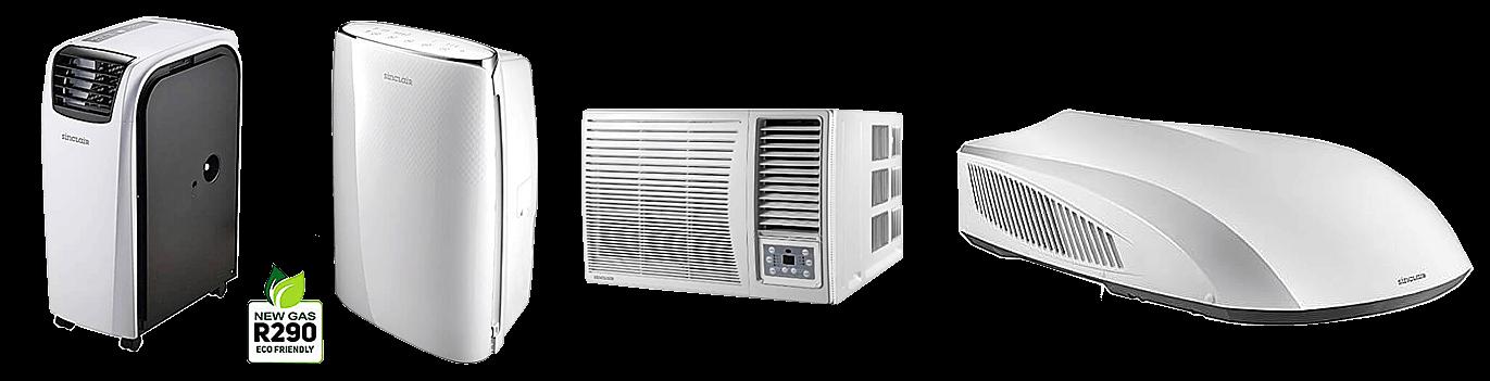 Montage mobiler Klimaanlagen