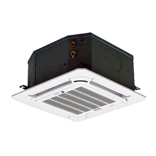 Fan-Coil Deckenkassette 4-Wege, 2 Rohre Klimasystem Klimaanlage
