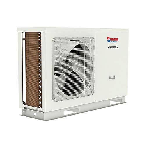 Monoblock Ausseneinheit Zweistufen Inverter-Kompressor Klimaanlagen