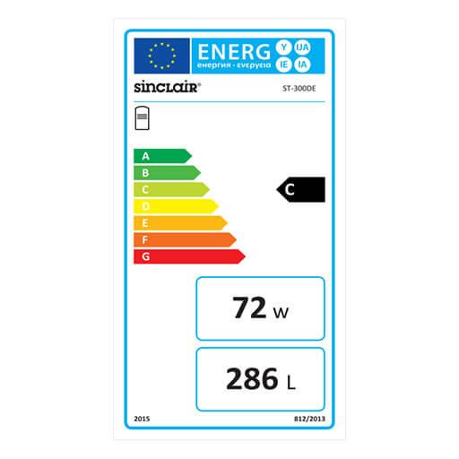 Energieausweis Wassererwärmer ST-300DE