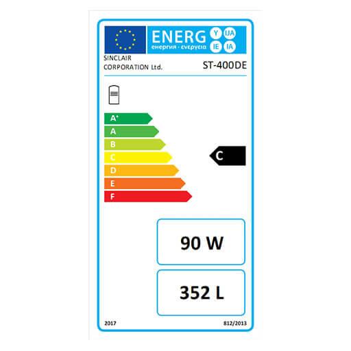 Energieausweis Wassererwärmer ST-400DE